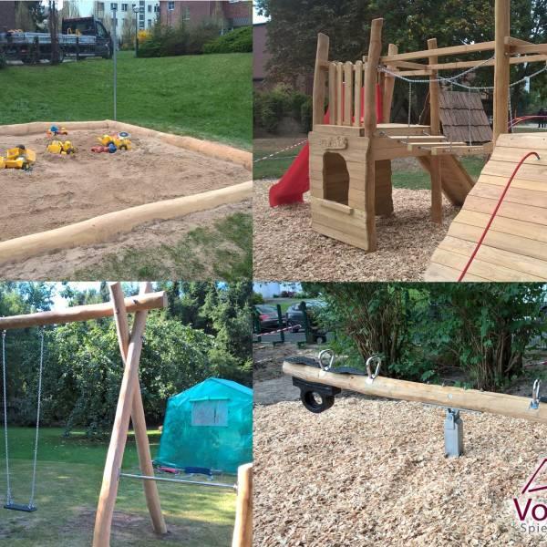 Robinienholz für Spielplatz, Schaukel, Wippe, Sandkasten